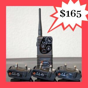 3 Dogs Aetertek AT-216S Anti Bark Dog Training Remote Collar