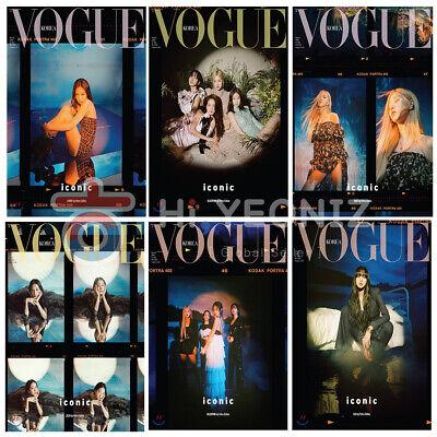 [PRE-ORDER] VOGUE Korea Magazine Black Pink Mar. 2020 6 Types + FREE (Order Vogue)
