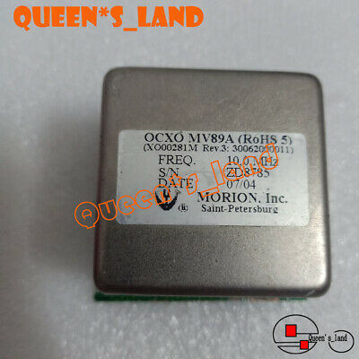2007 Yearsmorion Double Oven Mv89a 10mhz 12v Sine Wave Ocxo Crystal Oscillator