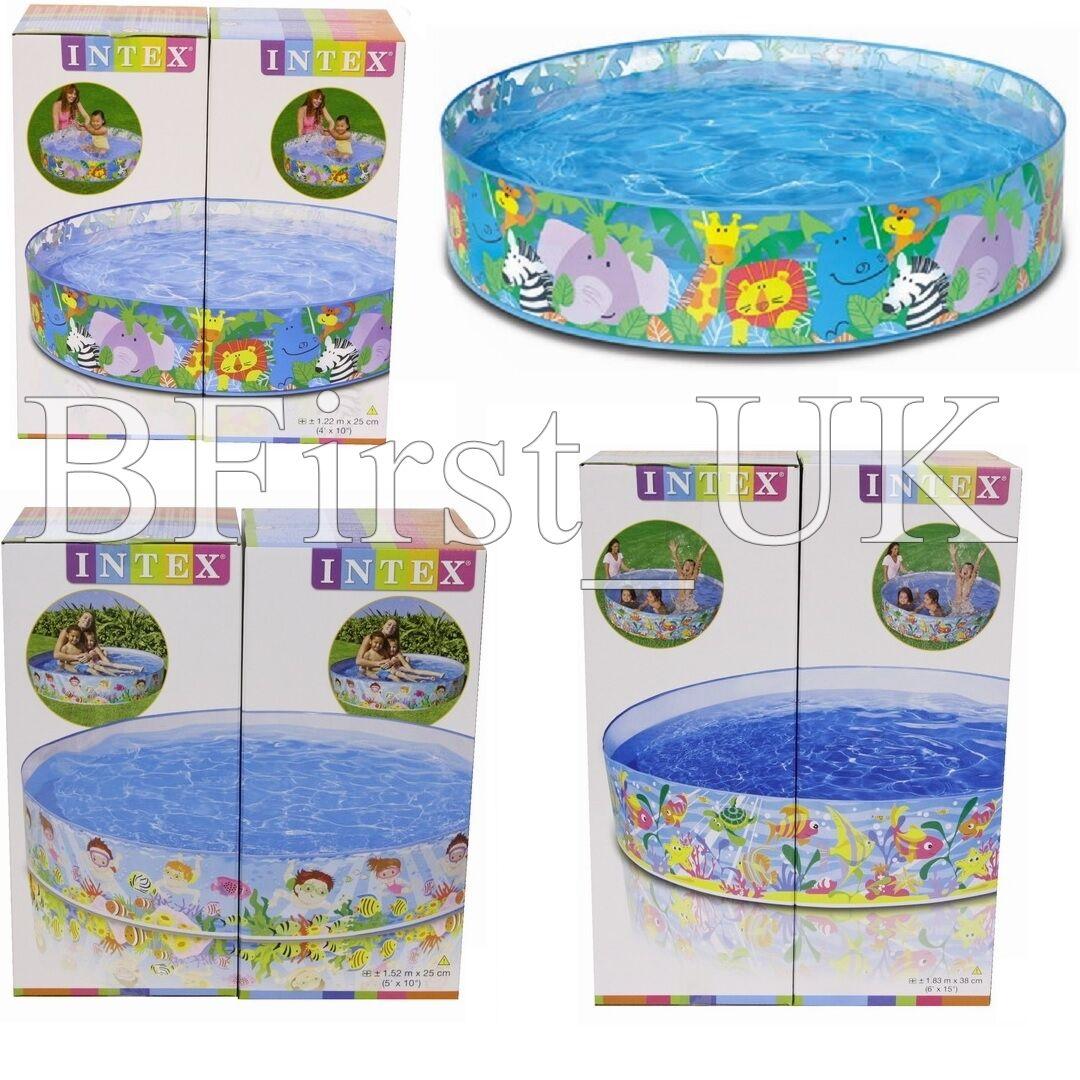 Children kids toddler garden rigid swimming paddling pool for Rigid paddling pool