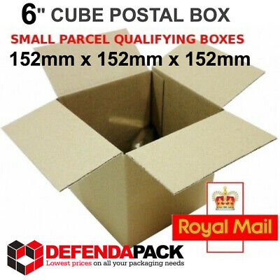 10 Cardboard POSTAL BOXES Small Parcel 6