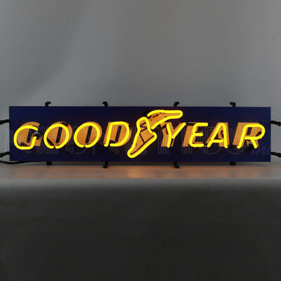 "Goodyear Certified Junior Neon Light Car Garage Man Cave Neon Sign 32"" by 8"""