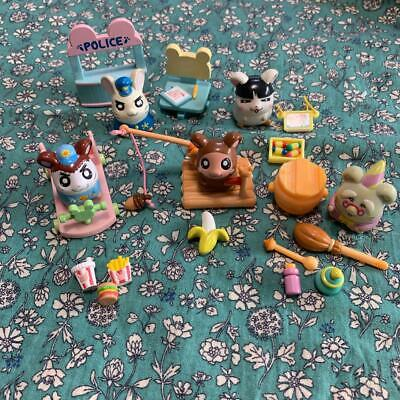 Hamtaro Hamchanzu Collection Figure Doll accessory F/S