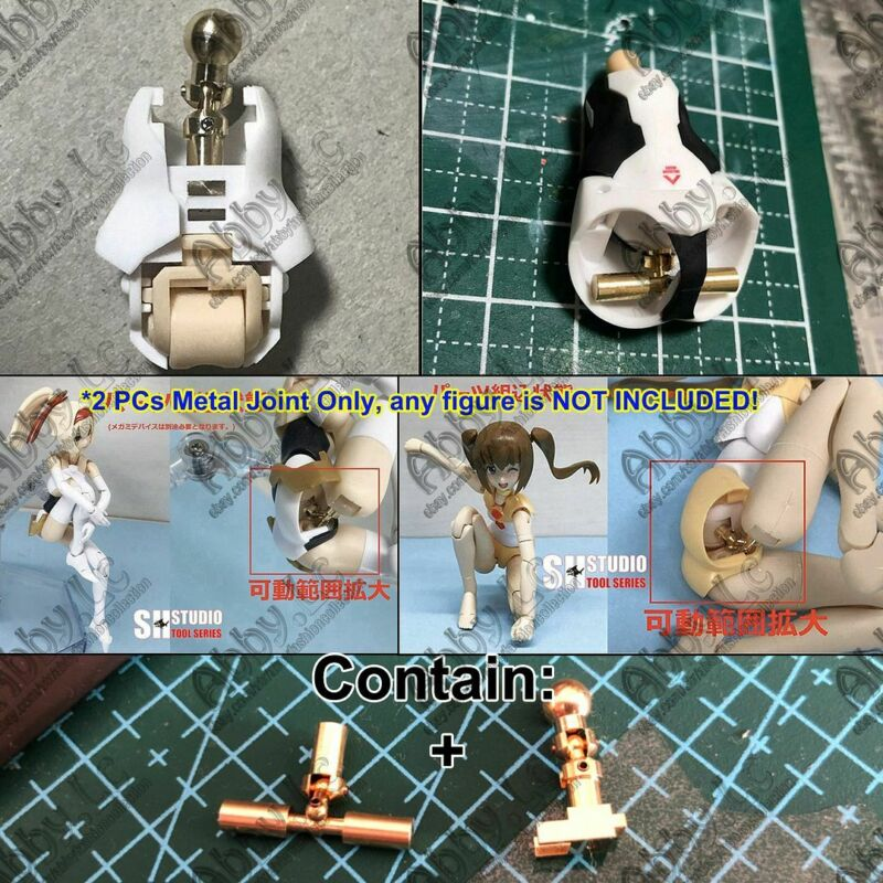 for FAG KOTOBUKIYA Megami device Chaos Pretty Magical Girl Metal Waist+Hip Joint