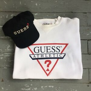 90's Guess Sweater & Hat