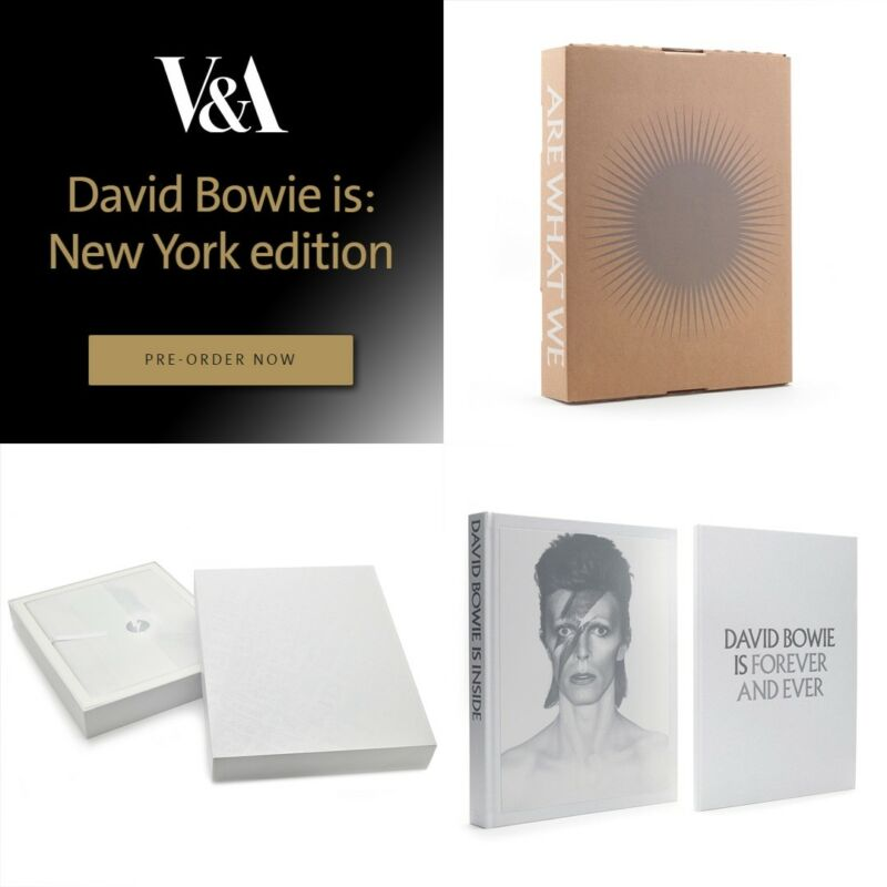 DAVID BOWIE IS - New York CATALOG - 1000 limited edition, sold out