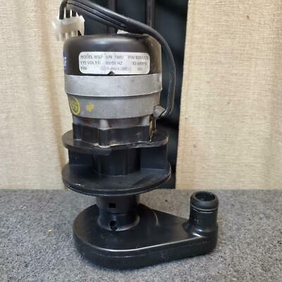 Manitowoc 8251123 Water Pump Model Msp2 Pn 82-5112-3 115v