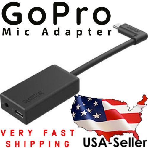 GoPro Pro 3.5mm Mic Adapter for HERO8 / HERO7 / HERO6 / HERO5 - (VERY FAST SHIP)