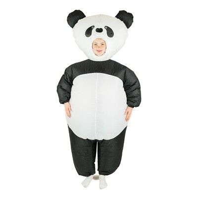 Kids Inflatable Pand Animal Bear Jungle Funny Halloween Fancy Dress Costume