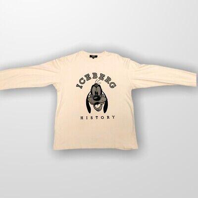 Vintage Iceberg History Goofy Long Sleeve Reflective T Shirt /Sweatshirt