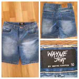 Boys Shorts size 10 Wayne Jnr Wayne Cooper. New Collaroy Manly Area Preview