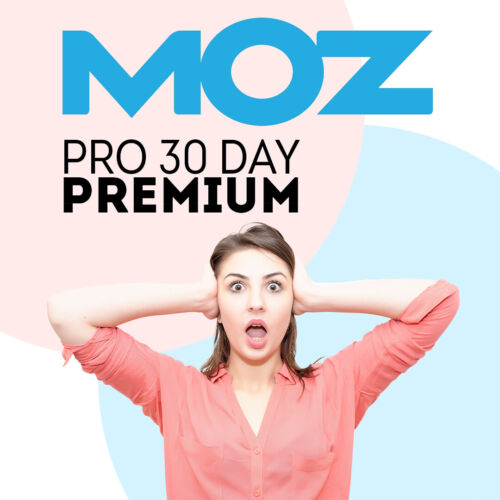 MOZ Pro SEO Account 2019 Premium Features Activated 30 Day