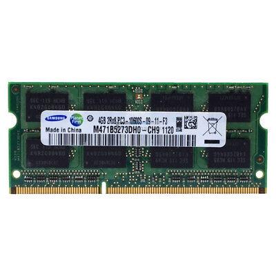 Samsung RAM SO-DIMM DDR3 PC3 4GB 10600S 204Pin 1333Mhz Speicher Laptop