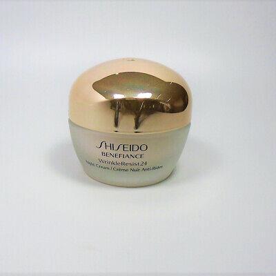 Shiseido Benefiance Wrinkleresist24 Night Cream 1.7 oz / 50ml *NEW*