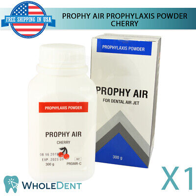 Prophy Air Prophylaxis Powder Cherry Flavor Dental Stain Remove Teeth Polish