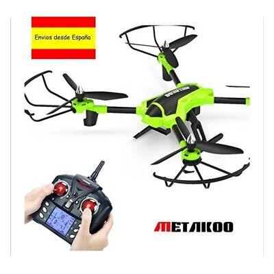 drone metakoo q323 con camara movible hd. one-key take off/landing