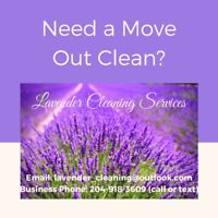 NEED A MOVE OUT CLEAN?