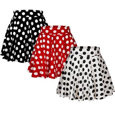 Damen Mädchen Erwachsene Tutu Röcke Polka Dot Minirock - Polka Dot Tutu