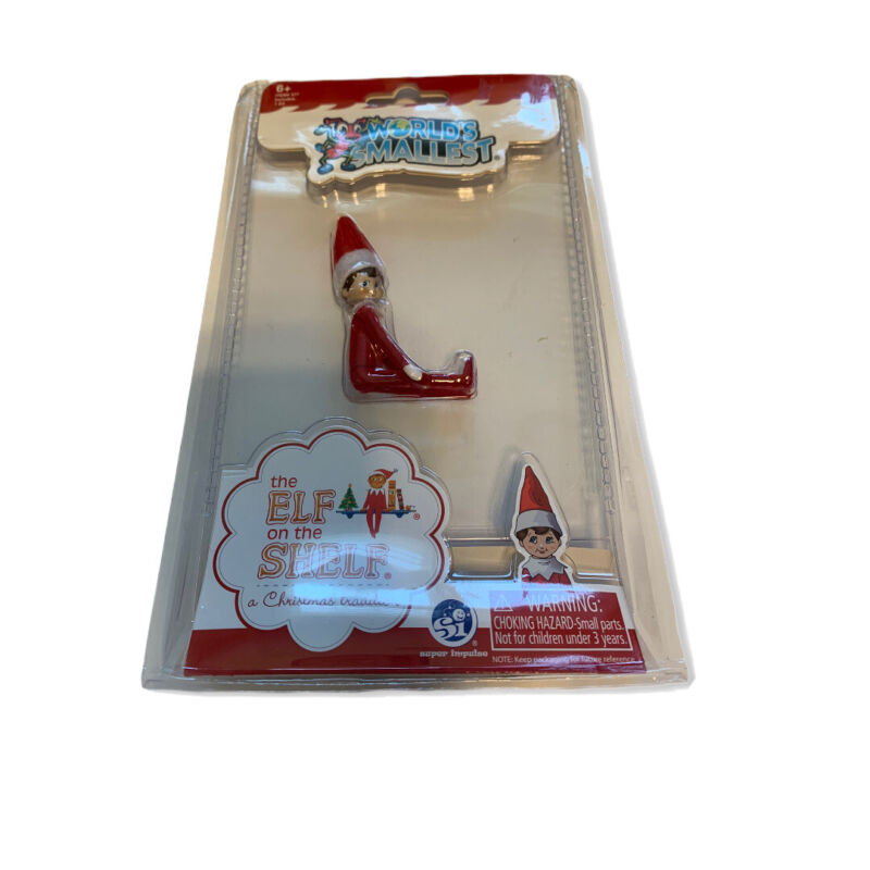 Brand New Worlds Smallest The Elf On The Shelf Discontinued HTF Rare Hot Toy 577