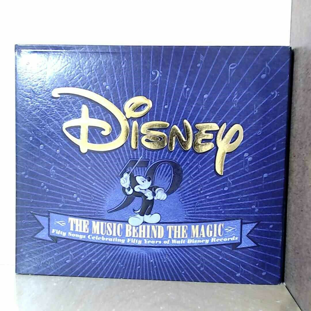 Disney: The Music Behind the Magic by Disney (2xCD, Walt Disney) 6031