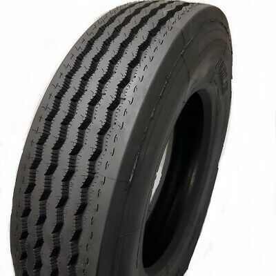 4-tires 28575r24.5 G14 Ply 144141m - Road Crew R150 Steer Tires 28575245