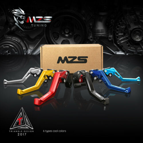 MZS Short Brake Clutch Levers for Suzuki B-King 2008-2011 Motorcycle US Shipping
