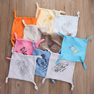 Baby Comforter Snuggle Blanket Hand Face Towel Cartoon Boys Girls Comfort Gift