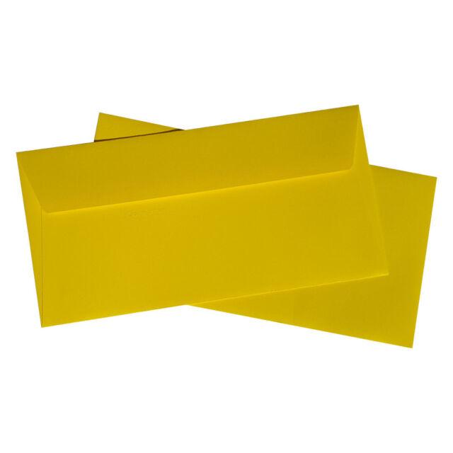20 DIN Lang Briefumschlag DL Sonne in Gelb von Pollen Clairefontaine
