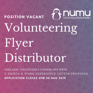 Adelaide Volunteers NEEDED! Adelaide CBD Adelaide City Preview