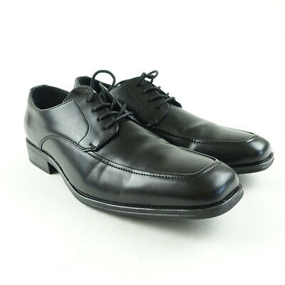 Alfani Mens Dress Shoe  Size 9 Black Leather