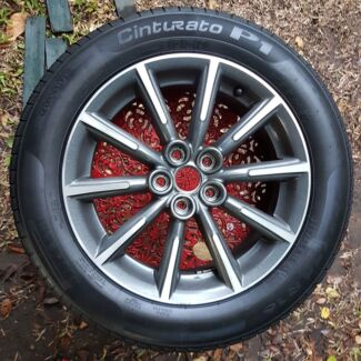 """4 Toyota 86 16"""" Rims with tyres"""
