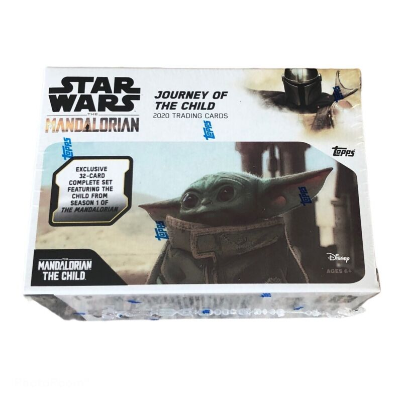 Topps Mandalorian Trading Cards, Baby Yoda 32 Card Set Star Wars Limited