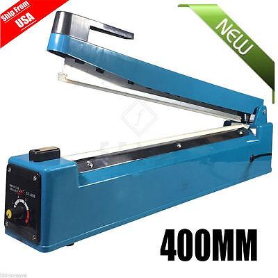 16 400mm Manual Impulse Heat Sealer Poly Bag Machine Shrink Wrap Welement Oy