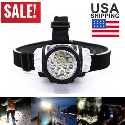 100000Lumen Powerful 14 LED Headlamp Portable Super Bright Headlight Flashlight 14 Led Headlamp