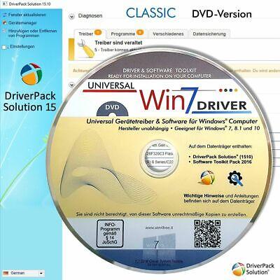 Treiber CD/DVD für Computer/PC/Laptop/Notebook mit Windows XP, Vista, 7, 8 u. 10 ()