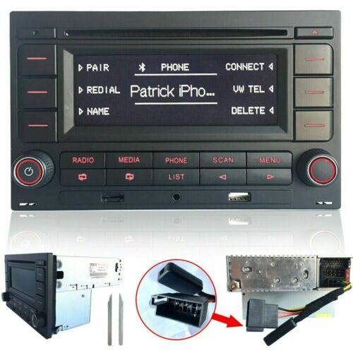 Autoradio RCN210 mit Bluetooth CD MP3 USB AUX für VW Golf 4 MK4 Polo Passat B5