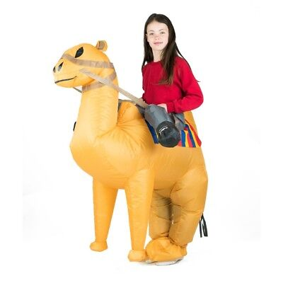 Kids Inflatable Camel Desert Arabian Animal Funny Halloween Fancy Dress Costume