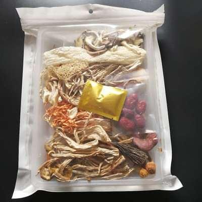 (Dried Fresh Wild Fungus Mushroom Bag Mixed 12 Varieties Healthy Tasty Soup Food )