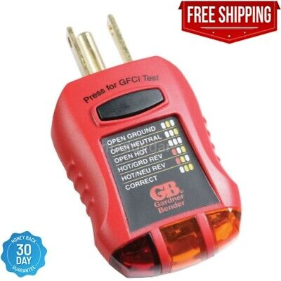 Gfci Electric Socket Outlet Receptacle Tester Circuit Analyzer Breaker Finder