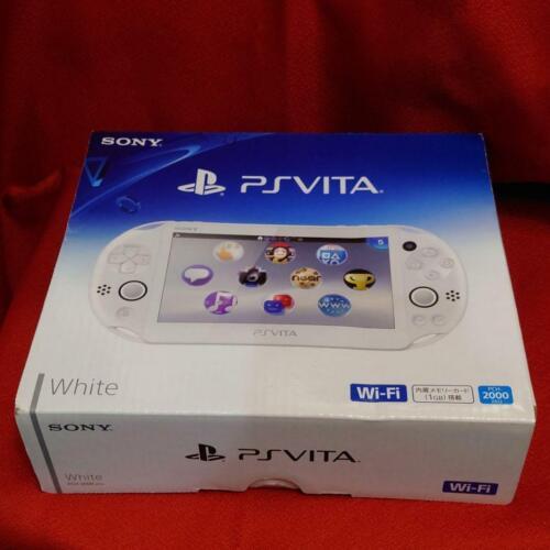 SONY+PS+Vita+PCH-2000+ZA12+white+Console+JAPAN