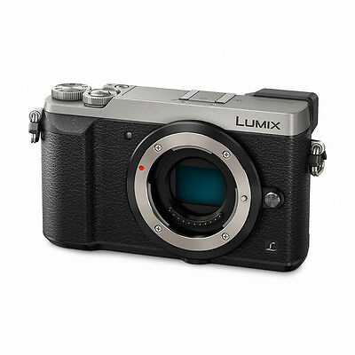 Panasonic Lumix DMC-GX85 Mirrorless Micro Four Thirds Digital Camera - Silver