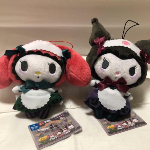 2019 Sanrio Kuromi & My Melody SET kawaii Japan Spoky Night Plush Doll Halloween