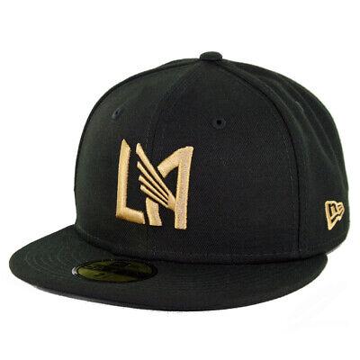 - New Era 5950 Los Angeles FC Fitted Hat (Black) Men's LAFC MLS Soccer Cap
