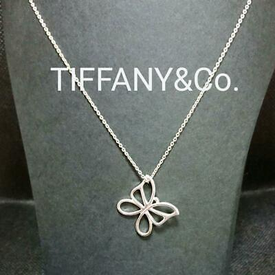 Tiffany & Co. Butterfly Necklace Pendant Silver Accessory