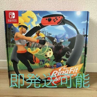 Nintendo Switch Ring Fit Adventure Fitness games Japan ring-con leg band FedEx