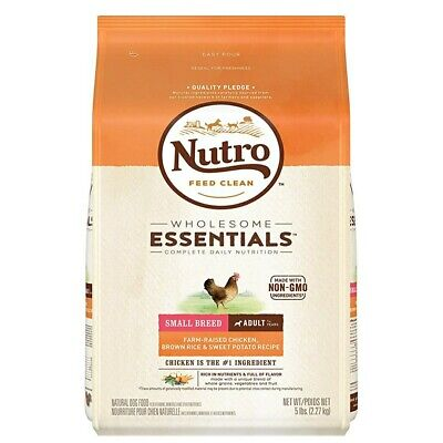 Nutro Wholesome Essentials Natural Adult Dry Dog Food for Small Breeds - 5 lbs