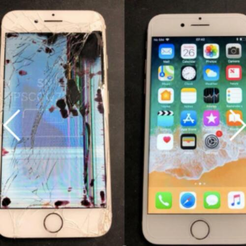 Apple Iphone 6s/6s Plus Cracked Screen Glass And Lcd Repair Replacement Service