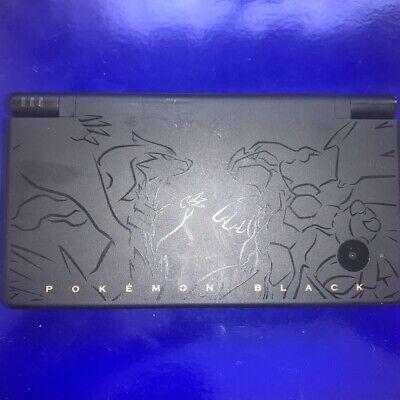 Nintendo DSi DSI Pokemon Black Reshiram & Zekram Limited Edition Console Japan