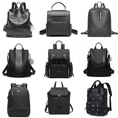 Ladies School Work Backpack Handbag Shoulder Bag Rucksack Travel Bag