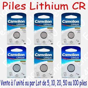 pile lithium 3v cr2016 cr2025 cr2032 cr2320 cr2325 cr2330 x 1 ou par lot ebay. Black Bedroom Furniture Sets. Home Design Ideas